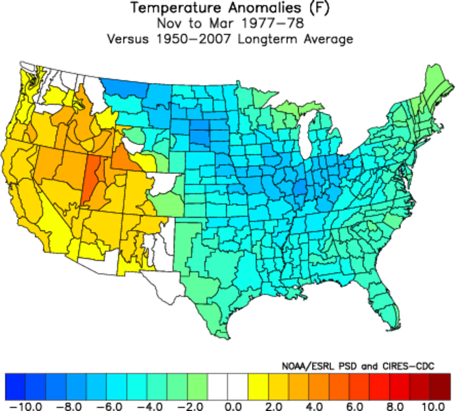 1977-1978 Temp Anomalies